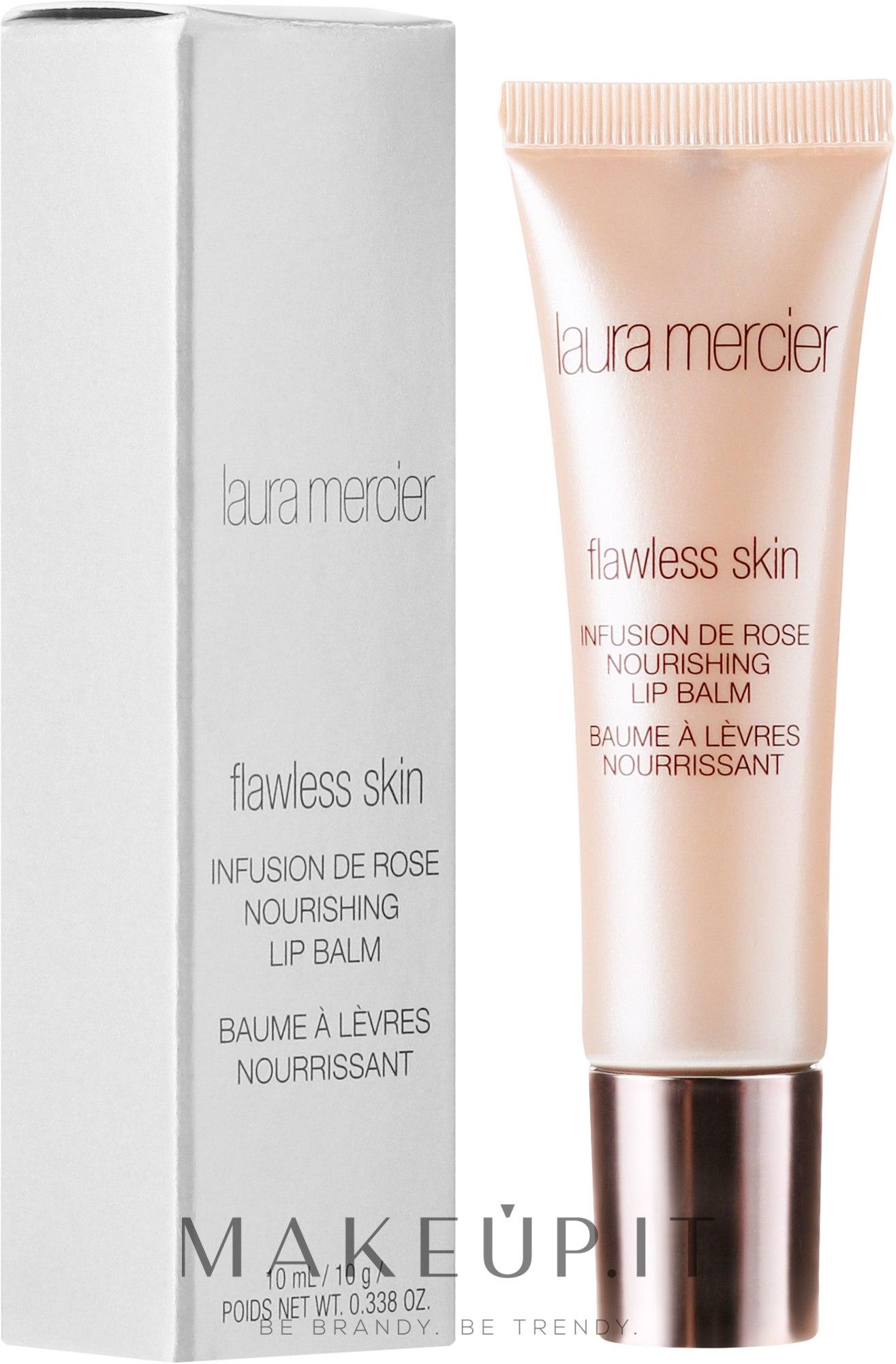 Balsamo labbra nutriente - Laura Mercier Flawless Skin Infusion De Rose — foto 10 ml