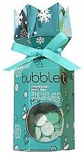 """Profumi e cosmetici Set """"Tè marocchino alla menta"""" - Bubble T Bath Fizzy Moroccan Mint Tea (bomb/100g+confetti/25g)"""