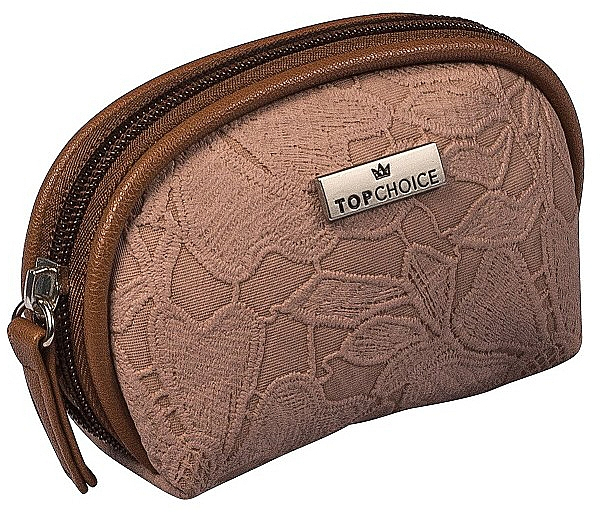 """Beauty case """"Lace"""", 98581, marrone scuro - Top Choice"""