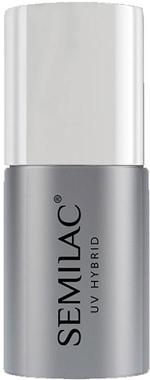 Top per smalto UV senza strato appiccicoso - Semilac Top No Wipe Sparkle Diamond