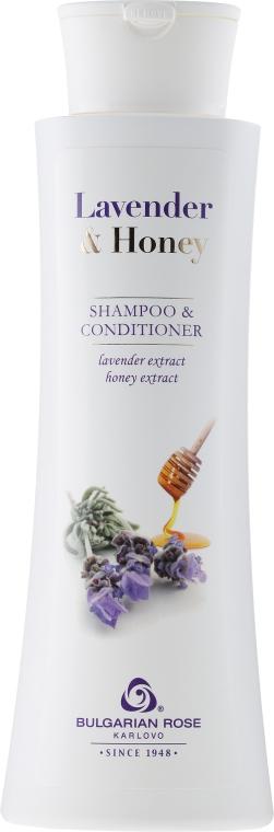 Shampoo-balsamo per capelli - Bulgarian Rose Lavender & Honey