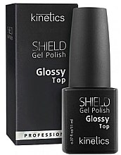 Top Coat per smalto gel - Kinetics Shield Gel Polish Glossy Top — foto N2