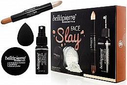 Set - Bellapierre Face Slay Kit Fair/Medium (stick/8.6g + powder/6.5g + spray/70ml + sponge/1pcs) — foto N2