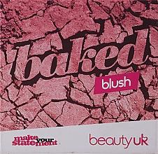 Profumi e cosmetici Blush - Beauty UK Cosmetics Baked Blusher (1 -Popsicle Pink)