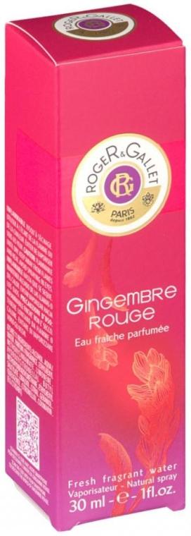 Roger & Gallet Gingembre Rouge - Acqua profumata — foto N2