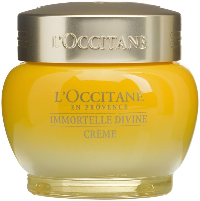 "Crema viso ""Immortelle Divine"" - L'occitane Immortelle Divine Moisturizer Cream — foto N1"