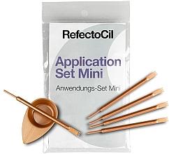 Profumi e cosmetici Kit per sopracciglia e ciglia - RefectoCil Application Set Mini Rose Gold (5pz)
