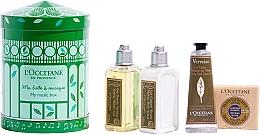 Profumi e cosmetici Set - L'Occitane Verbena My Music Box (sh/gel/75ml + b/milk/75ml + h/cr/30ml + soap/50g)