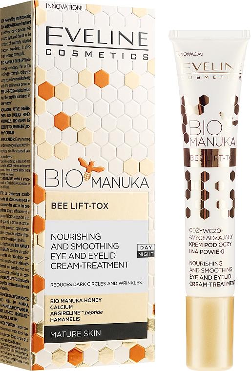 Crema contorno occhi anti-età - Eveline Cosmetics Bio Manuka Bee Lift-tox