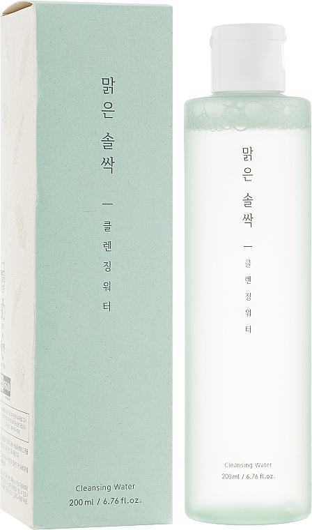 Acqua detergente viso - A'pieu Pure Pine Bud Cleansing Water — foto N1