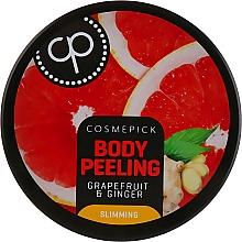 Profumi e cosmetici Peeling corpo allo zucchero con aroma di pompelmo e zenzero - Cosmepick Body Peeling Grapefruit & Ginger