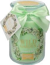 Profumi e cosmetici Candela profumata, 10x16 cm., 700g. - Artman Wild Garden Jasmin & Lilac