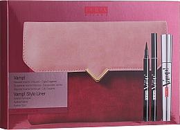 Profumi e cosmetici Set - Pupa Vamp! Vamp! Stylo Liner (mascara/9ml + eye/liner/1.5ml + bag)