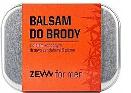 Profumi e cosmetici Balsamo per barba con olio di canapa - Zew Beard Balm