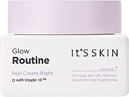 Profumi e cosmetici Crema viso da notte - It's Skin Glow Routine Peel Cream Night
