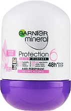 Profumi e cosmetici Deodorante roll-on - Garnier Mineral Protection 6 Cotton Fresh