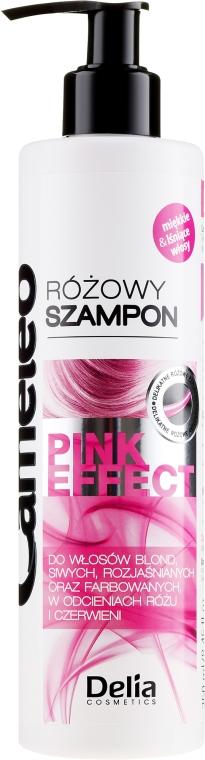 Shampoo nutriente con l'effetto dei riflessi rosa - Delia Cosmetics Cameleo Pink Shampoo