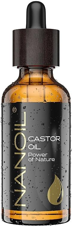 Olio di ricino - Nanoil Body Face and Hair Castor Oil