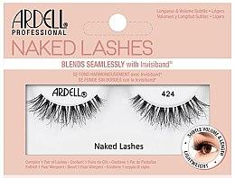 Profumi e cosmetici Ciglia finte - Ardell Naked Lashes 424