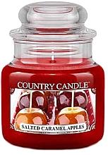 Profumi e cosmetici Candela profumata in barattolo - Country Candle Salted Caramel Apples