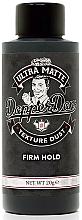 Profumi e cosmetici Polvere per lo styling dei capelli - Dapper Dan Ultra Matte Texture Dust
