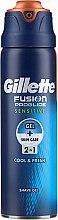 Profumi e cosmetici Gel da barba per pelli sensibili - Gillette Fusion ProGlide Sensitive Cool & Fresh Shave Gel