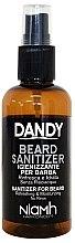 Profumi e cosmetici Spray disinfettante per barba e baffi - Niamh Hairconcept Dandy Beard Sanitizer Refreshing & Moisturizing