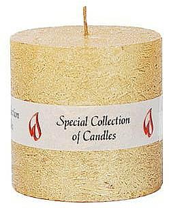 Candela naturale, 7,5 cm - Ringa Golden Glow Candle