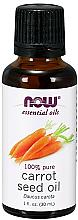 Profumi e cosmetici Olio essenziale di semi di carota - Now Foods Essential Oils 100% Pure Carrot Seed Oil