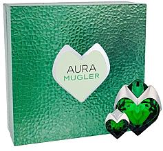 Profumi e cosmetici Mugler Aura Mugler Eau de Parfum - Set (edp/50ml + edp/5ml)