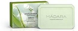 """Profumi e cosmetici Sapone viso normalizzante """"Betulla e Alghe marine"""" - Madara Cosmetics Birch & Algae Soap"""
