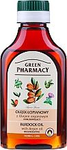 Profumi e cosmetici Olio di bardana con olio di argan per capelli - Green Pharmacy