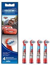 Profumi e cosmetici Testine per spazzolini da denti per bambini EB10-4, Cars - Oral-B Stages Power Disney