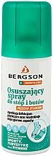 Profumi e cosmetici Spray per piedi e scarpe con effetto essiccante - Bergson Foot Spray
