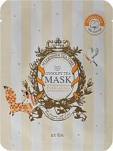 "Profumi e cosmetici Maschera viso ""Gyoolpy Tea"" - A:t fox Energizing Gyoolpy Tea Mask"