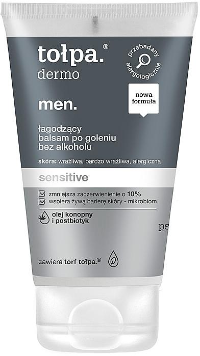 Balsamo dopobarba - Tolpa Men Sensitive After Shave Balm — foto N1