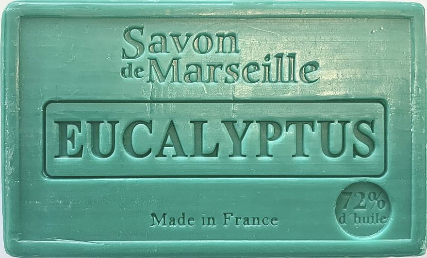 "Sapone ""Eucalipto"" - Le Chatelard 1802 Savon de Marseille Eucalyptus Soap — foto N1"