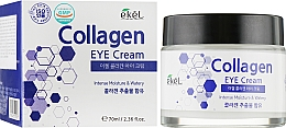 Profumi e cosmetici Crema contorno occhi idratante con collagene - Ekel Collagen Eye Cream