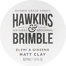 Profumi e cosmetici Pomata per capelli - Hawkins & Brimble Elemi & Ginseng Matt Clay