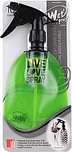 Profumi e cosmetici Spruzzatore, verde chiaro - Wet Brush Live Love Green Spray Bottle