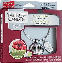 Profumi e cosmetici Profumo per auto - Yankee Candle Charming Scents Black Cherry Linear