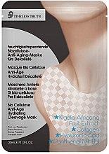 Profumi e cosmetici Maschera idratante, antietà per il decollette - Timeless Truth Bio Cellulose Anti-Age Hydrating Cleavage Mask