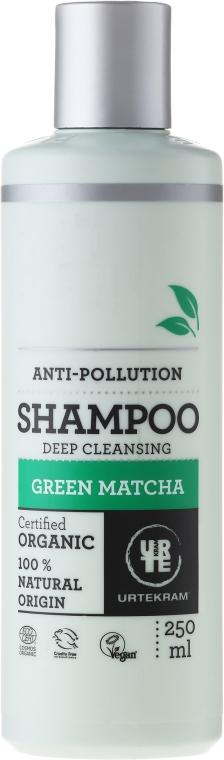 Shampoo detergente profondo - Urtekram Green Matcha Shampoo