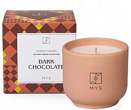 """Profumi e cosmetici Candela di soia """"Cioccolato fondente"""" - Mys Dark Chocolate Candle"""