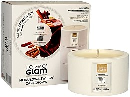 Profumi e cosmetici Candela profumata - House of Glam Hot Spiced Wine Candle