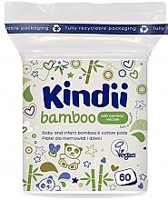 Profumi e cosmetici Dischetti di cotone per neonati e bambini - Kindii Bamboo Cotton Pads