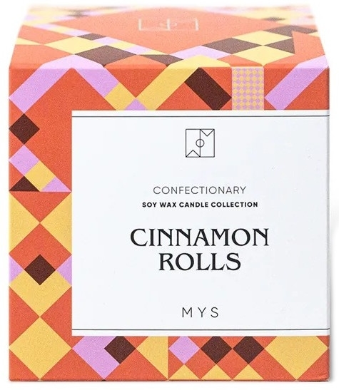 """Candela di Soia """"Rotolo di cannella"""" - Mys Cinnamon Rolls Candle — foto N3"""