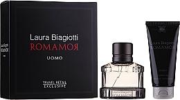 Profumi e cosmetici Laura Biagiotti Romamor Uomo - Set (edt/40ml + sh/gel/100ml)