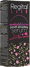 Profumi e cosmetici Siero per la crescita di ciglia e sopracciglia - Regital Lash Eyelash & Brow Growth Stimulating Serum