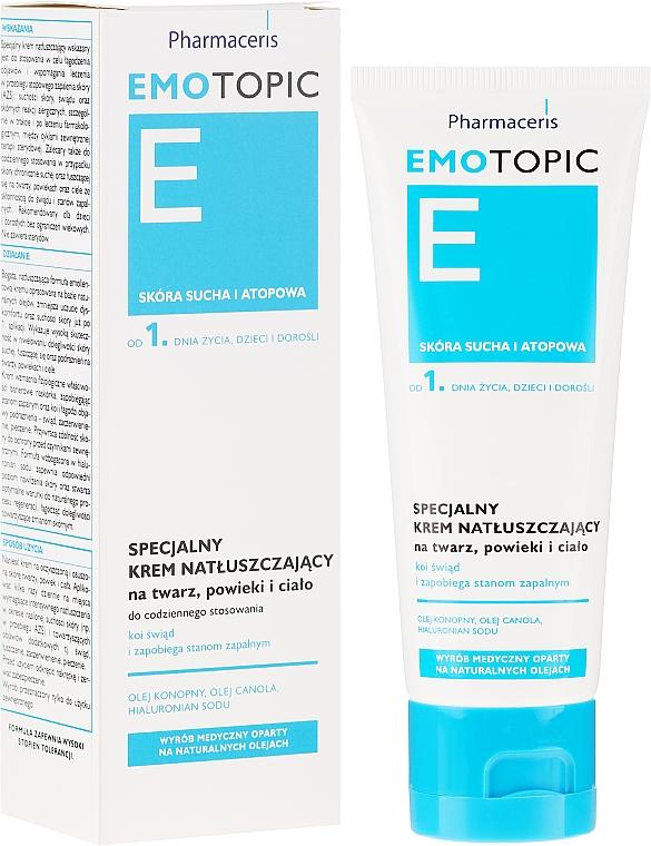 Crema speciale per viso e corpo - Pharmaceris E Emotopic Special Cream